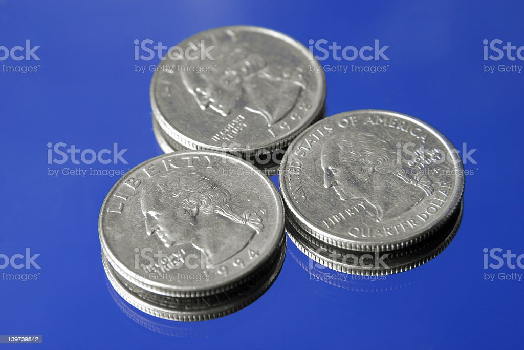 This makes a lot of cents stock photo