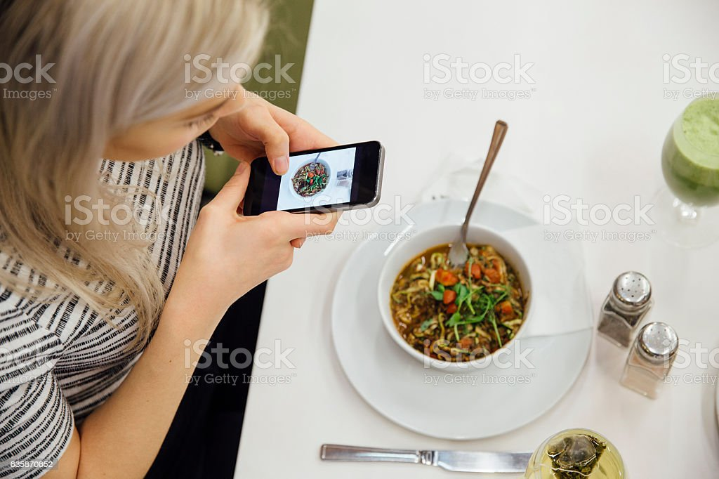 This Meal is Worth Sharing stock photo
