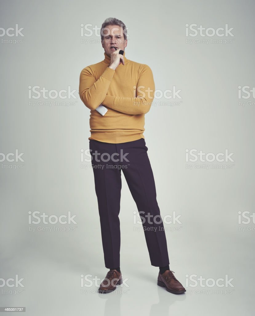 This merits some more thought... stock photo
