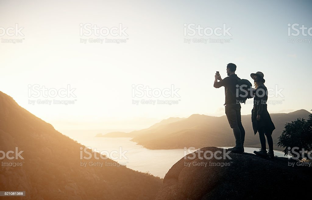 This moment needs to be remembered forever stock photo