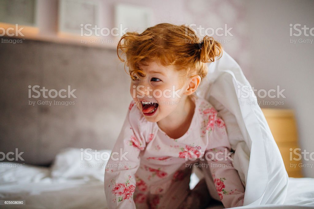 This Monster Doesn't Live Under the Bed stock photo
