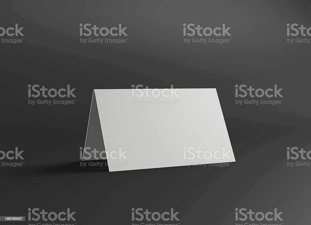 This name stand presentation  2 stock photo