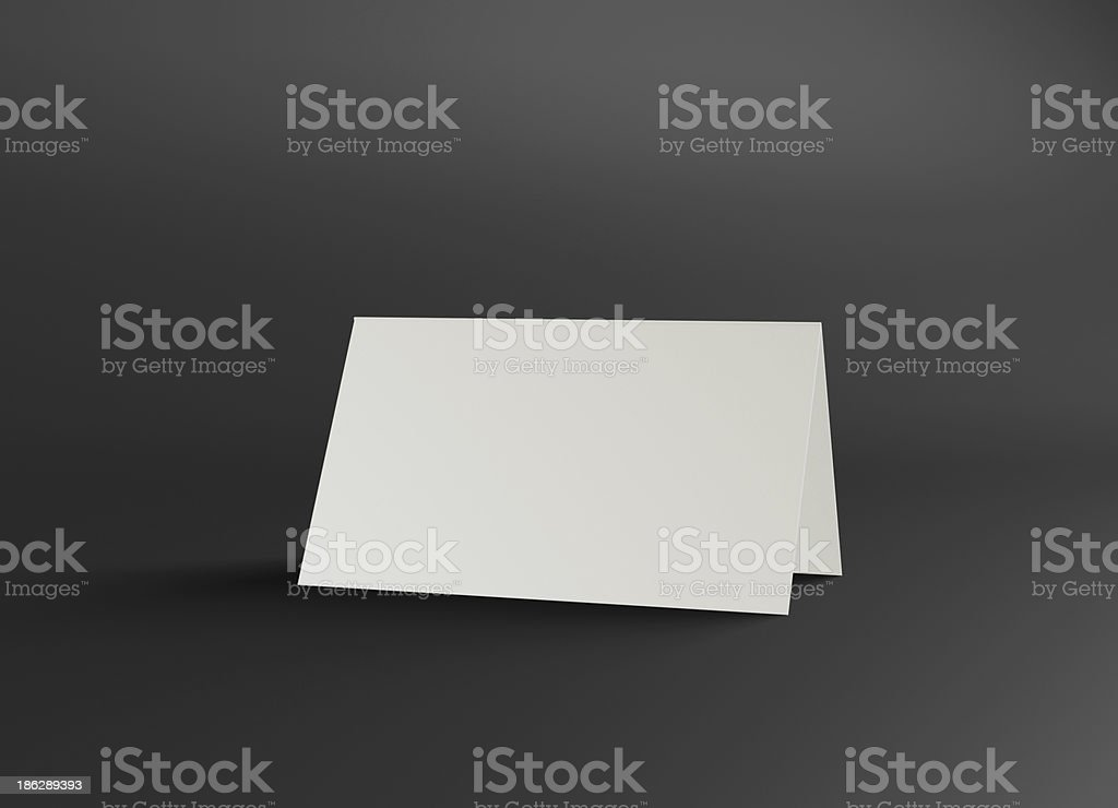 This name stand presentation stock photo
