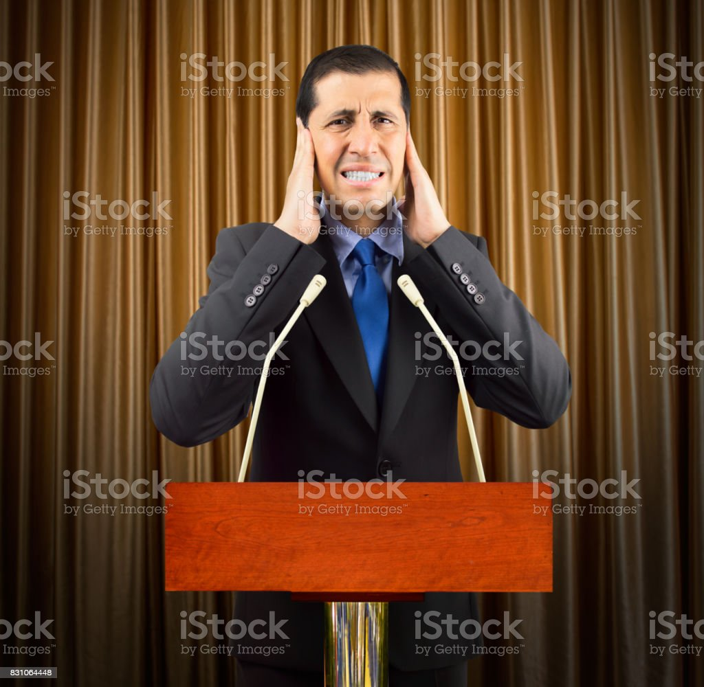 this noise is unbearable stock photo