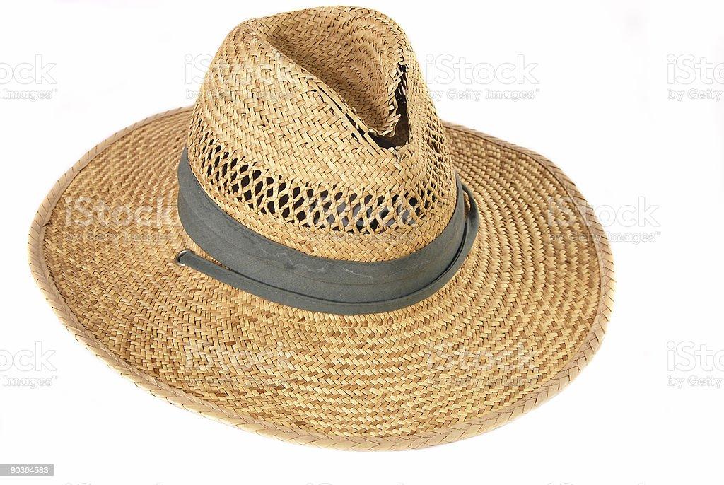 Este chapéu velho foto royalty-free