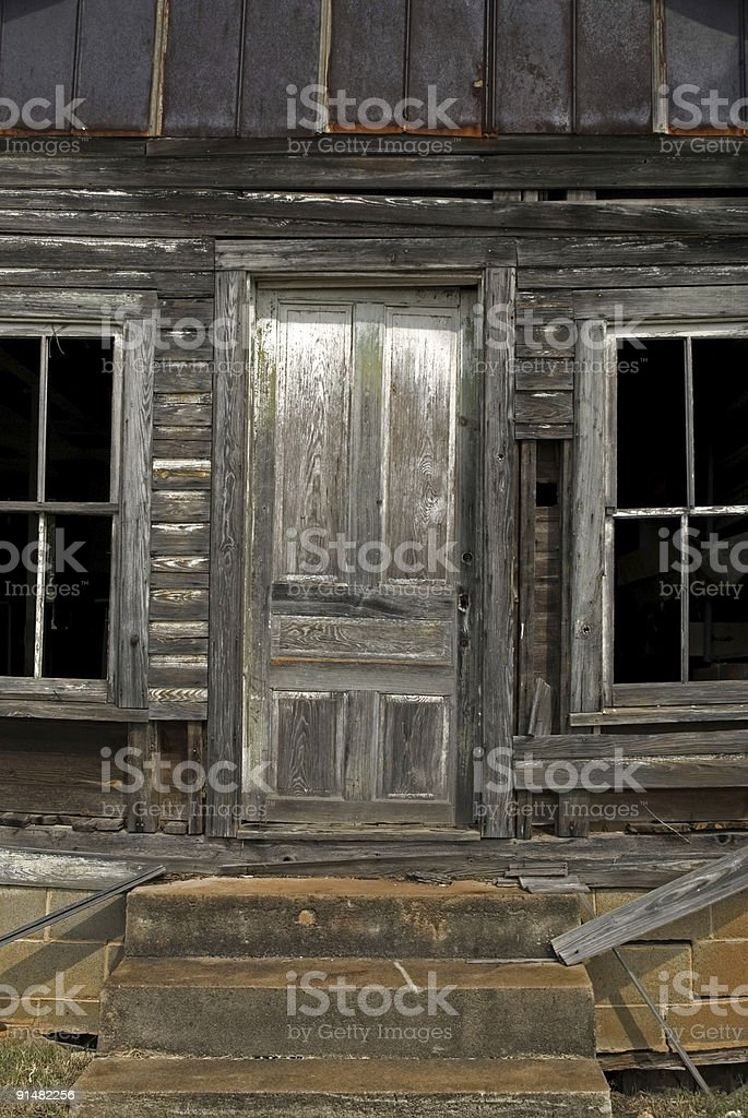 This Old House Door royalty-free stock photo