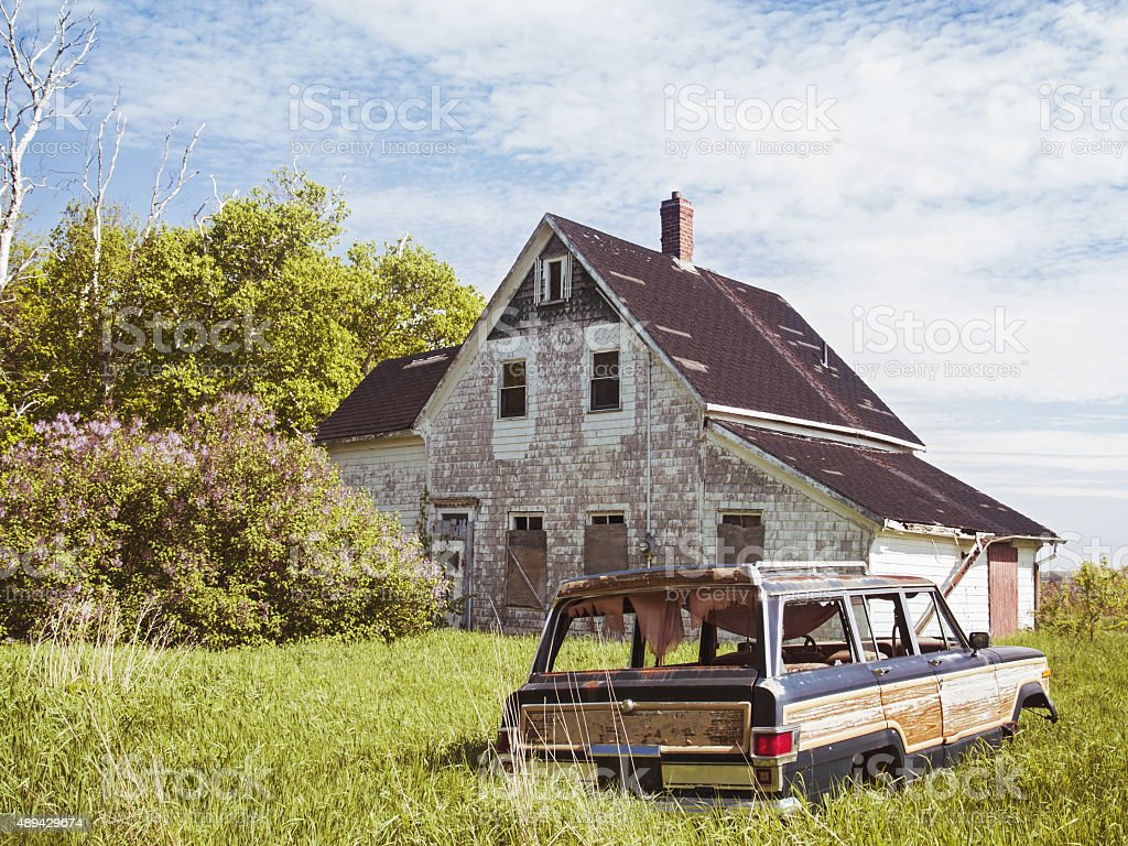 This Old House stock photo