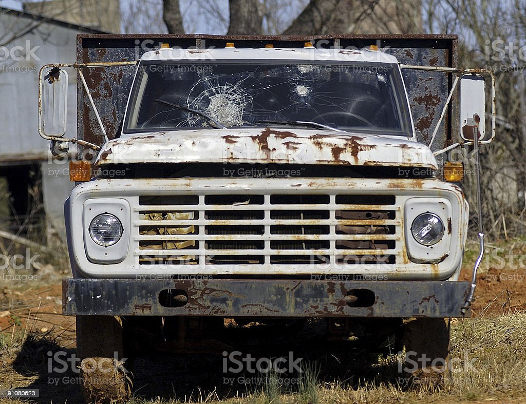 This Old Truck from a Better Day royalty-free stock photo