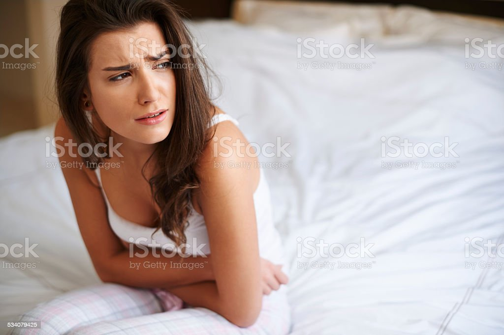 This pain is so exhaustive stock photo
