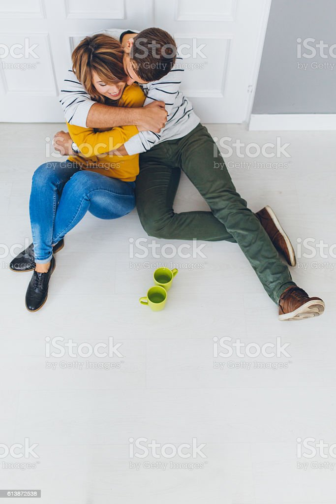 This place is only ours! stock photo