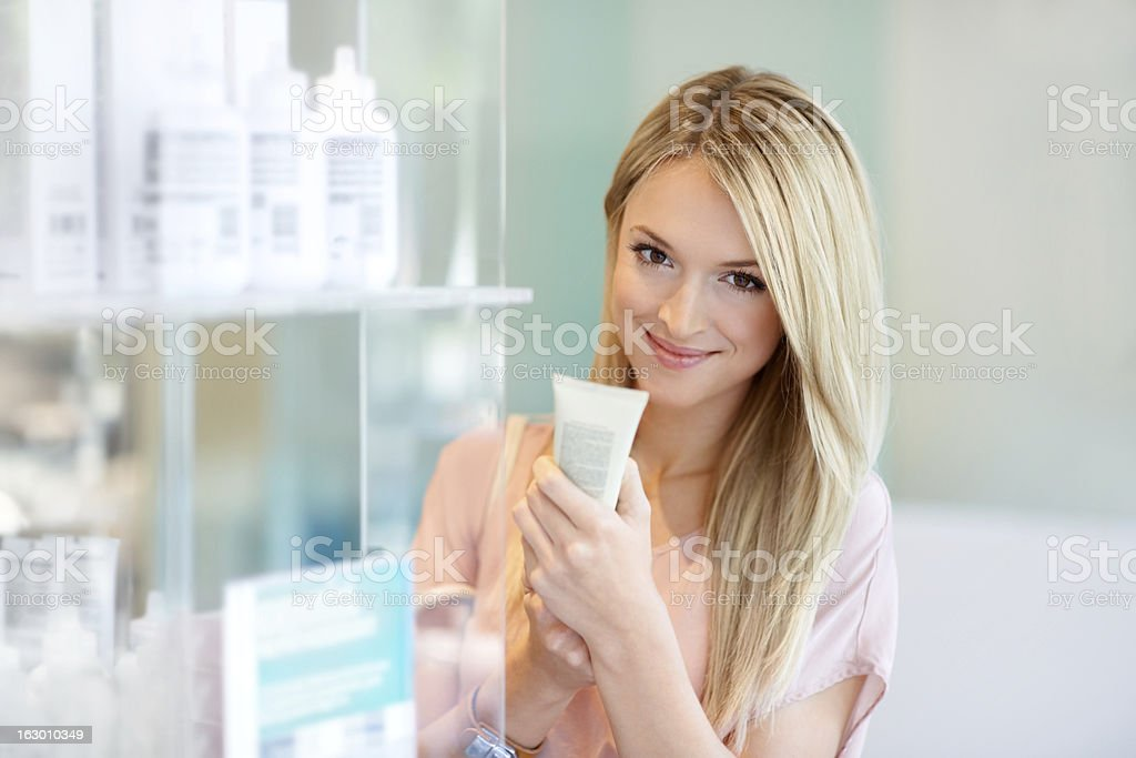 This product sounds great! stock photo