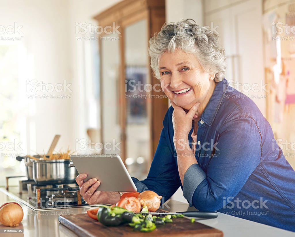This recipe even comes with a video tutorial stock photo