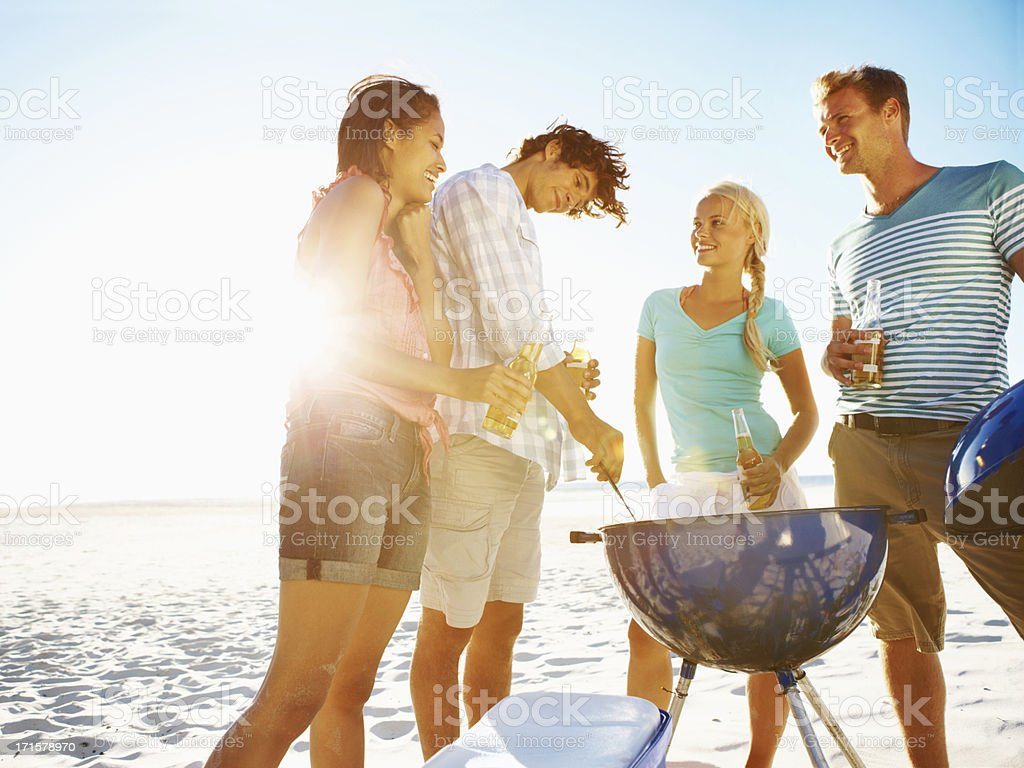 This smells delicious! stock photo