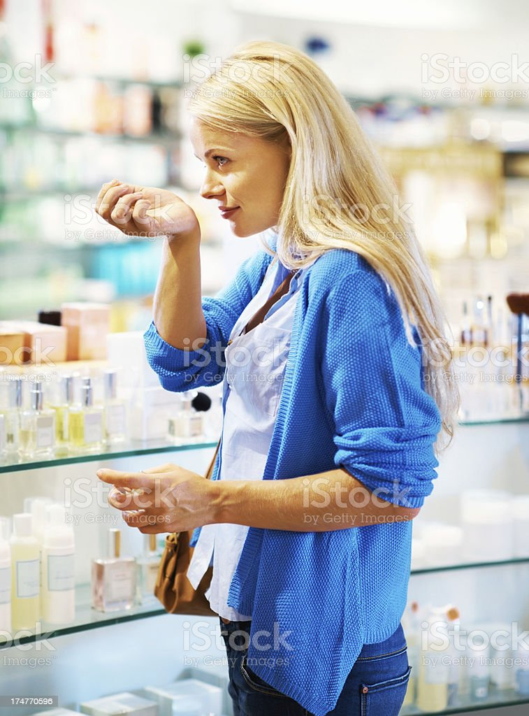 This smells lovely! stock photo