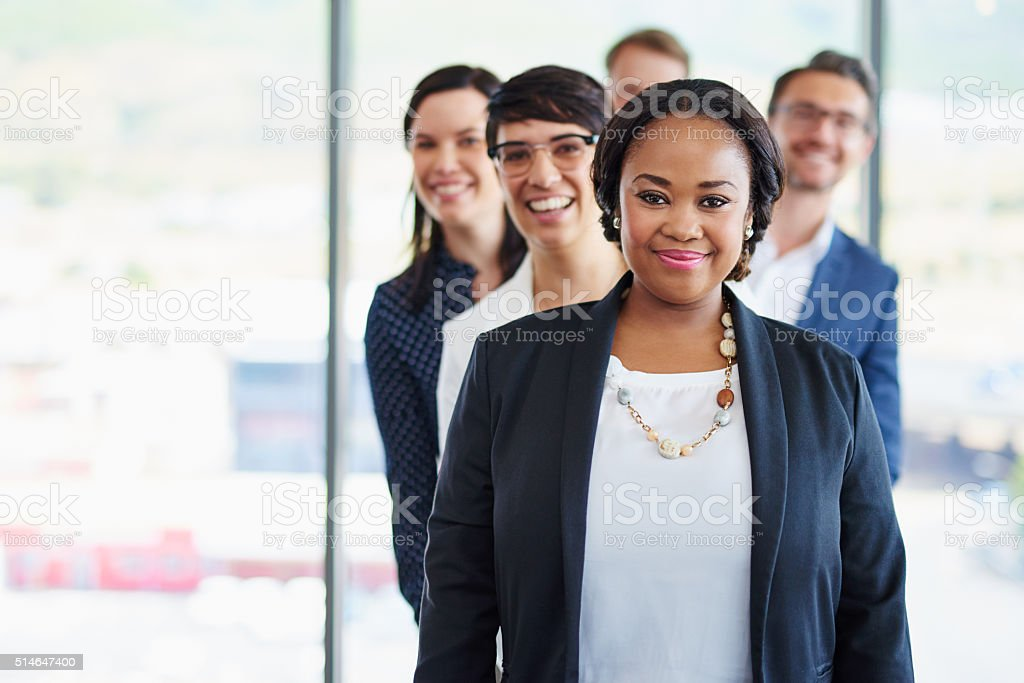 This team is built for business stock photo