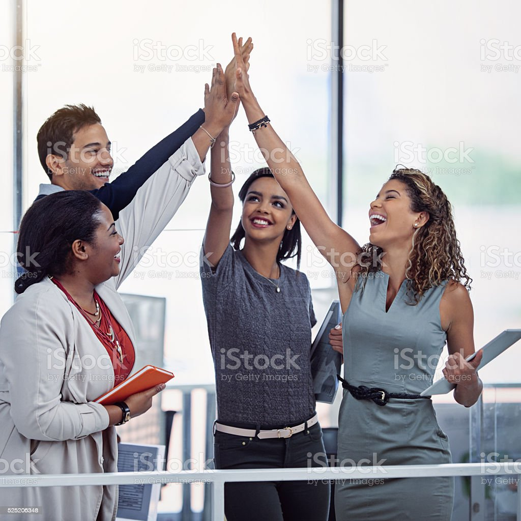 This team's success knows no limits stock photo
