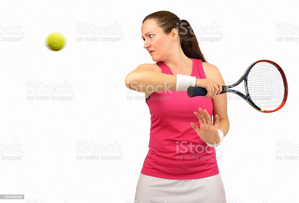 this tennis set is mine stock photo
