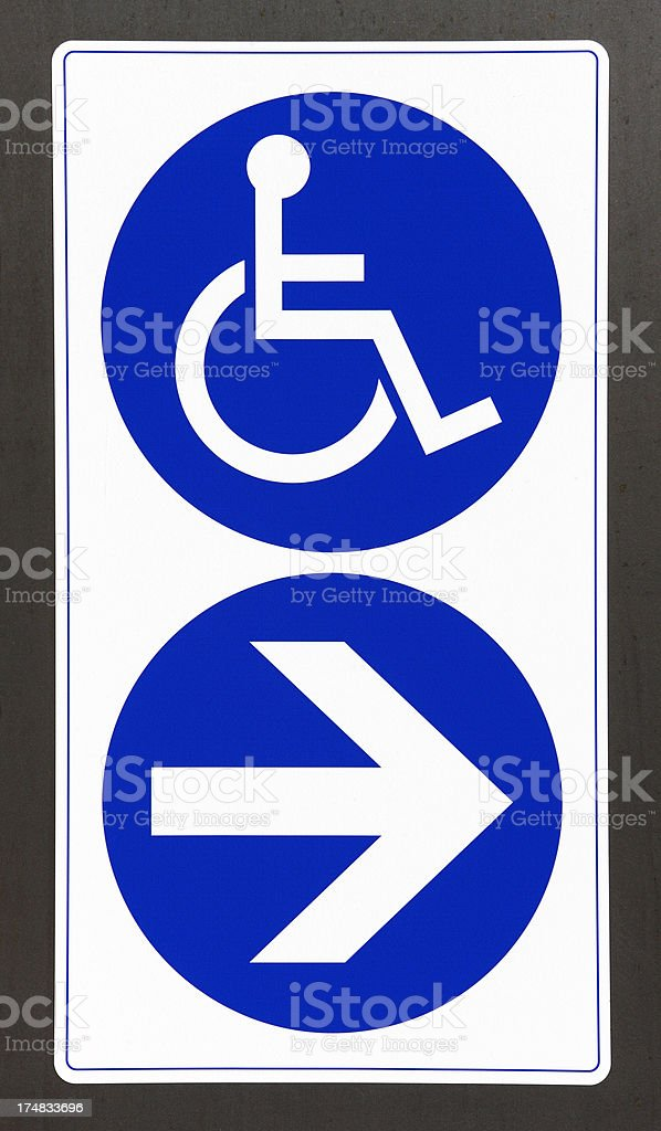 This way if you are disabled royalty-free stock photo