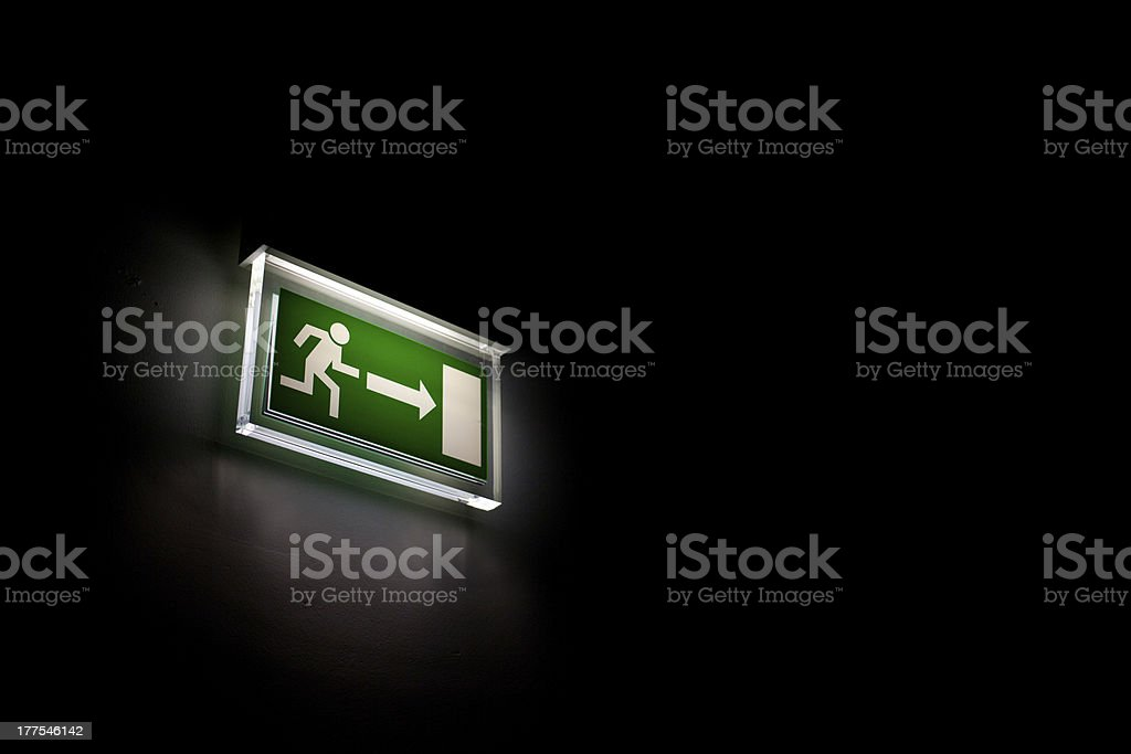 This way royalty-free stock photo