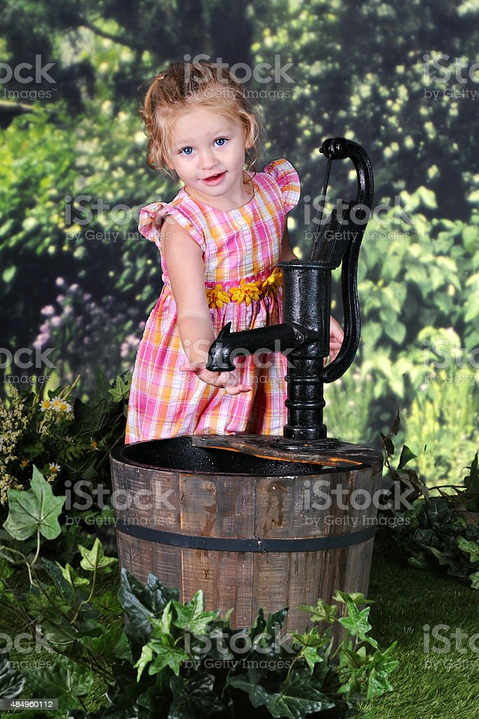 This Well Went Dry stock photo