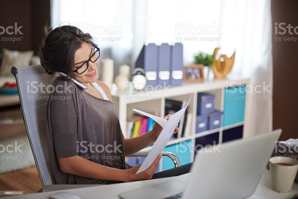 This work requires me to sacrifice but I like it stock photo