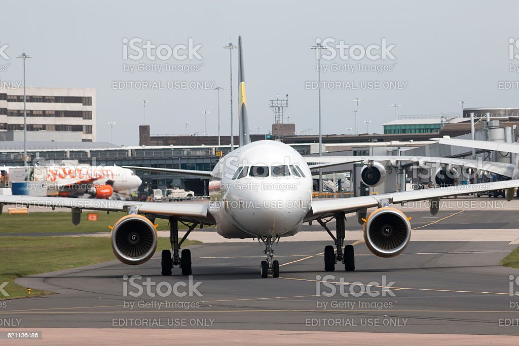 Thomas Cook Airlines A321 stock photo