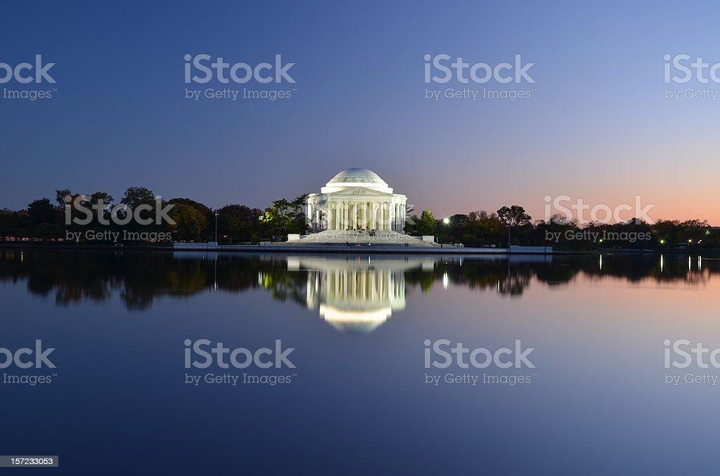 Thomas Jefferson Memorial in Washington DC, USA stock photo