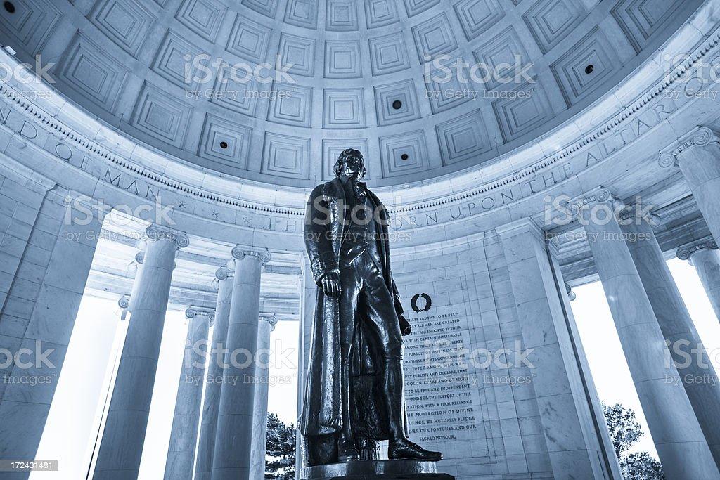 Thomas Jefferson Memorial stock photo