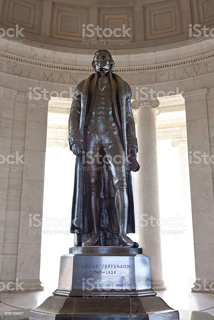 Thomas Jefferson Memorial, Washington DC. stock photo