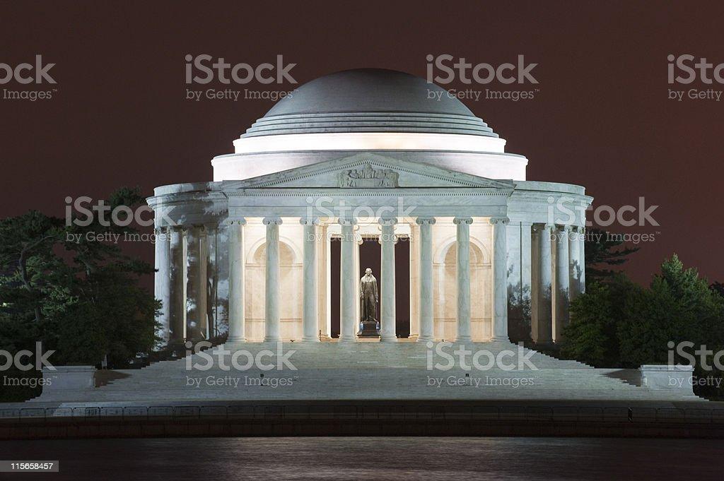 Thomas Jefferson Memorial, Washington DC, USA stock photo