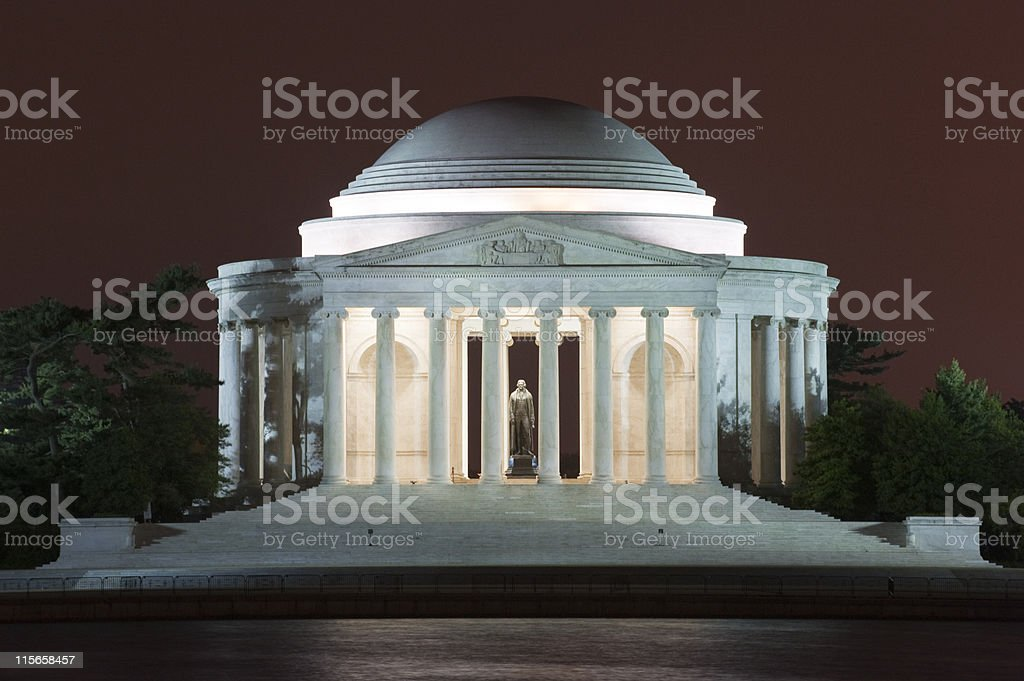 Thomas Jefferson Memorial, Washington DC, USA stock photo