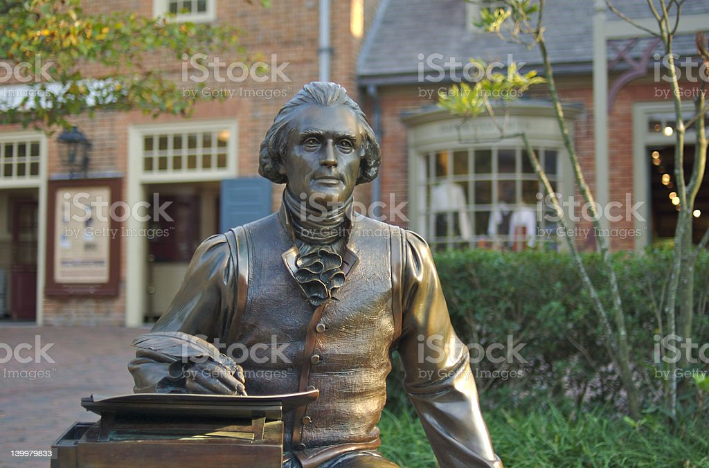 Thomas Jefferson stock photo