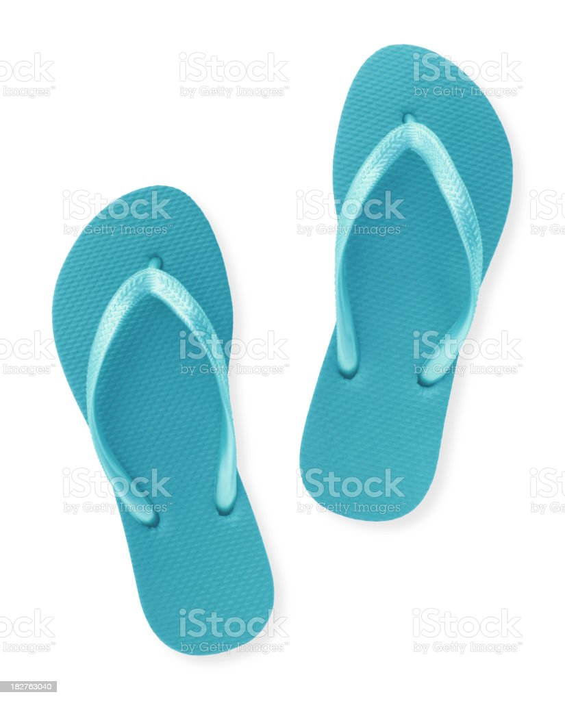 Thongs royalty-free stock photo