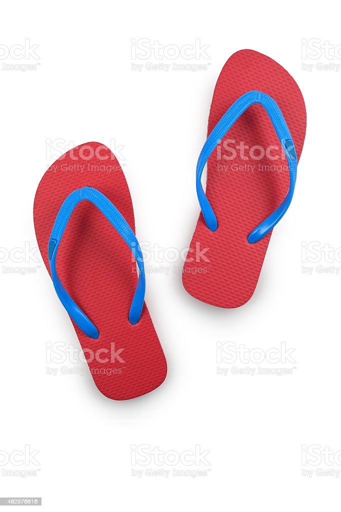 Thongs (with Clipping Path) stock photo