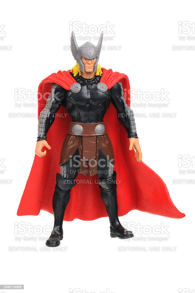 Thor Action Figure stock photo