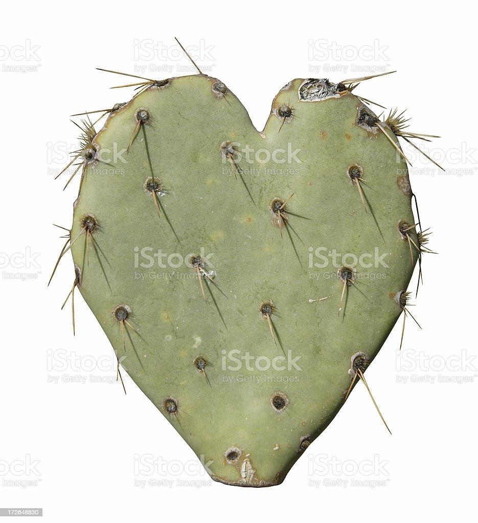 Thorny Heart royalty-free stock photo