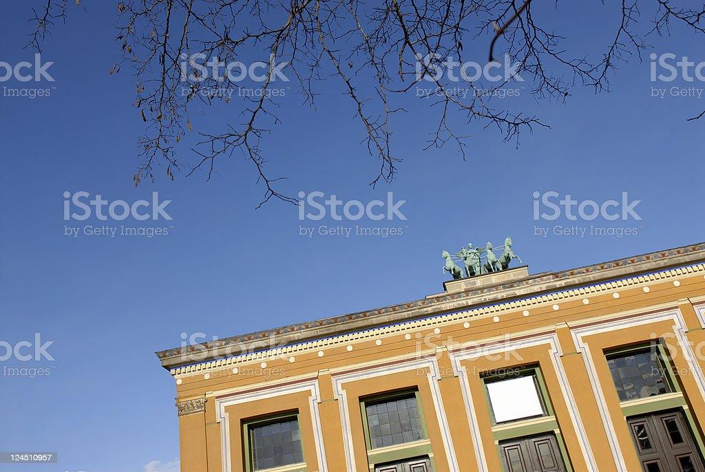Thorvaldsens Museum stock photo