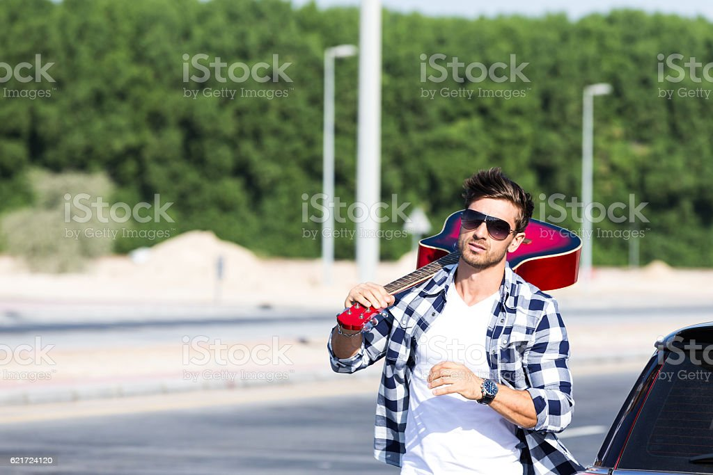 Those beautiful days when I was a star stock photo