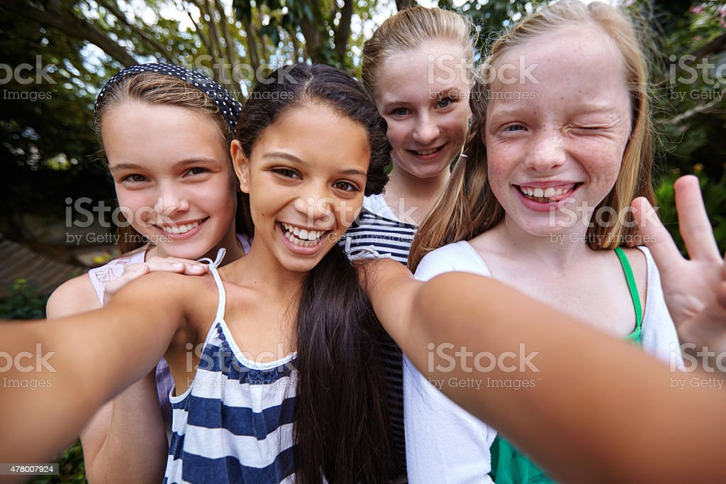 Those friends that are like part of my family... stock photo