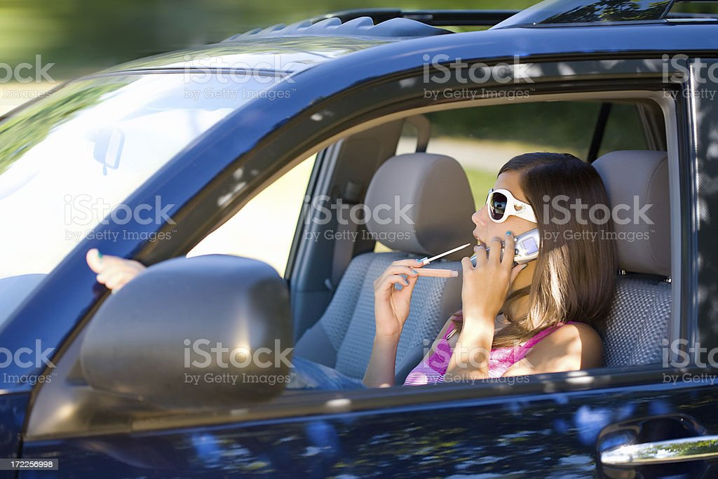 Those Pesky Teen Drivers royalty-free stock photo