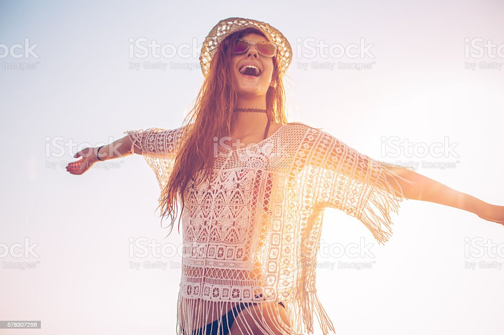 Those summer days stock photo