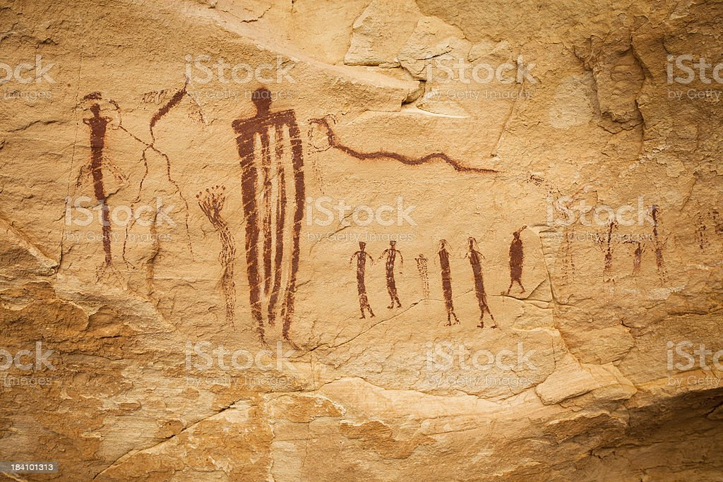 Thou Shalt Follow Pictograph stock photo