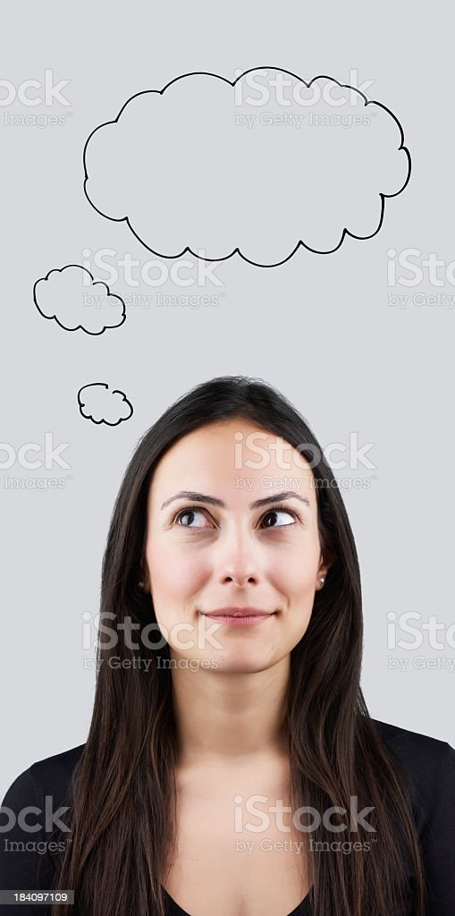 Thought Bubble royalty-free stock photo