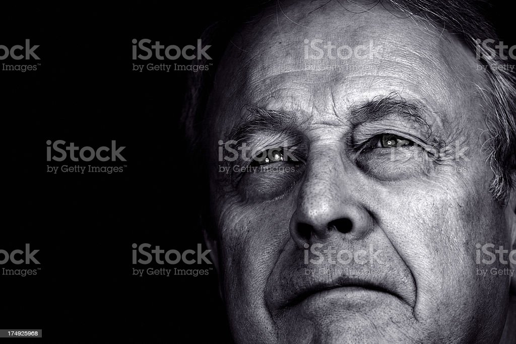 Thought royalty-free stock photo