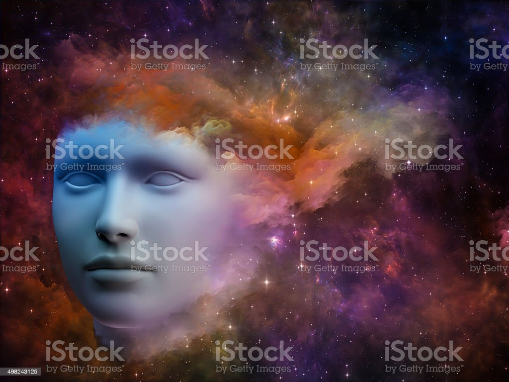 Thought stream royalty-free stock photo