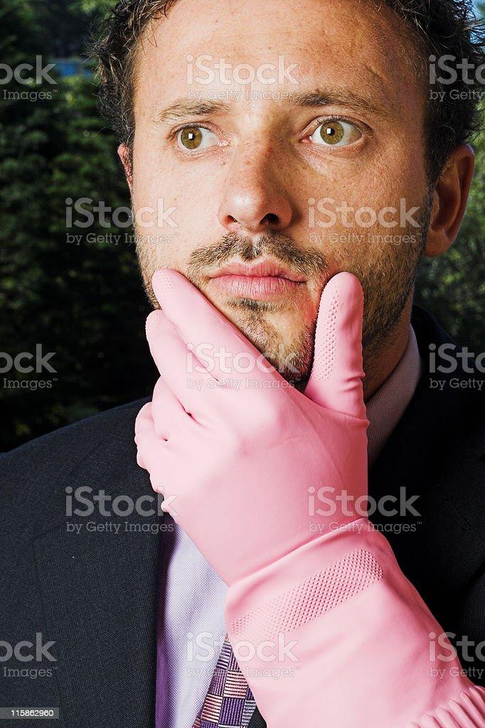 Thoughtful Guy royalty-free stock photo