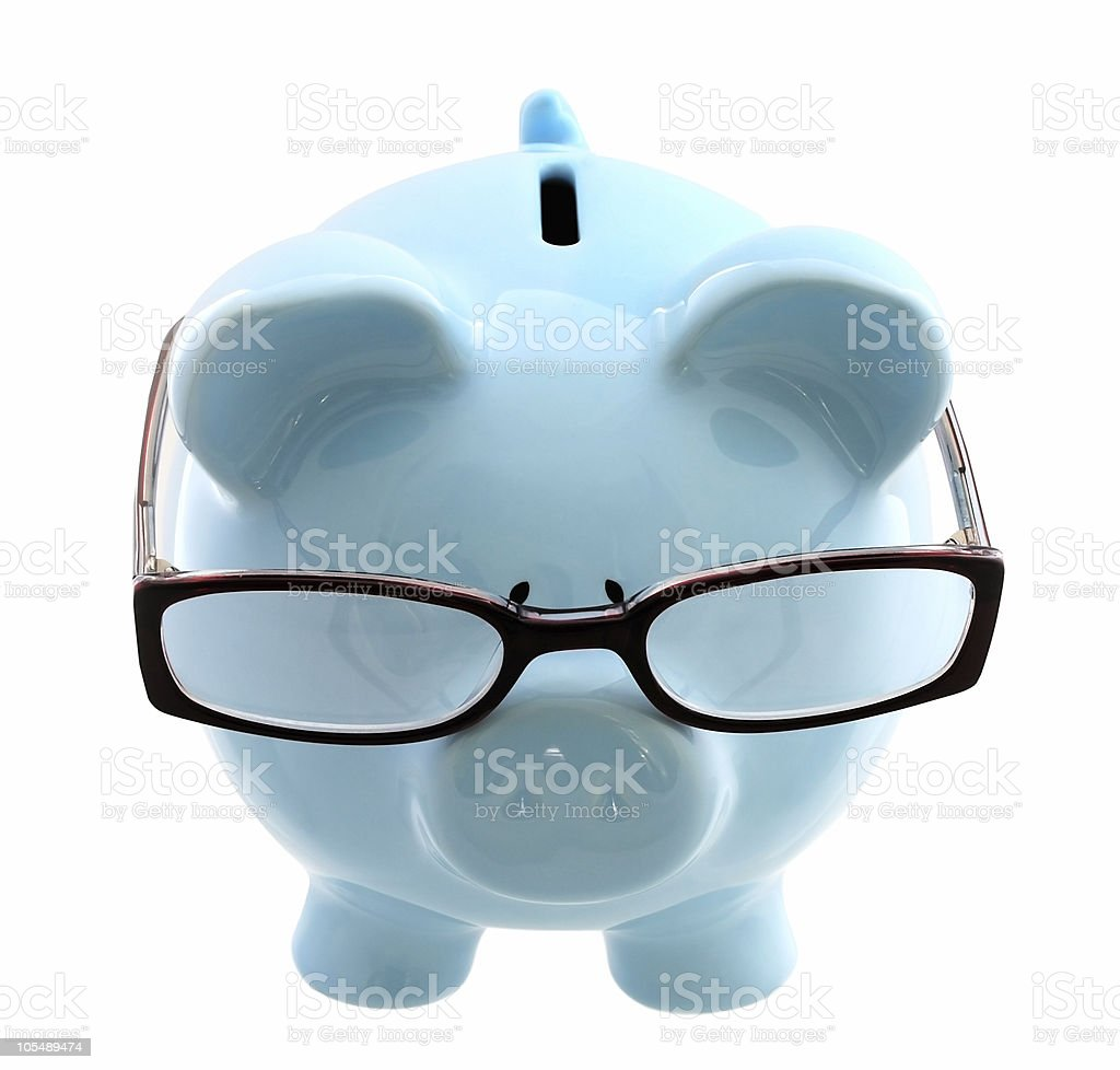 Thoughtful Investor royalty-free stock photo