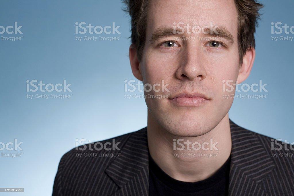 thoughtful stare stock photo