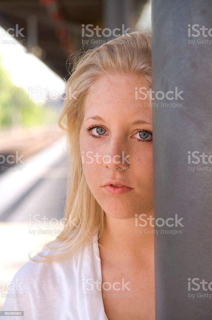 Thoughtful Teenager royalty-free stock photo