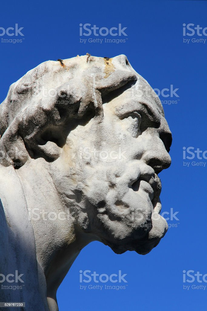 Thoughtful Thucydides stock photo
